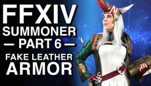 Fake Leather Armor FFXIV Summoner Cosplay Part 6