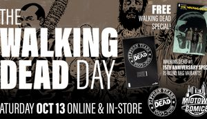 Walking Dead Day – Free comics, and WD #1 Anniversary blind bag variants!